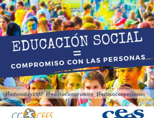 El 2 de Octubre, CEES-ARAGÓN celebra el Día Mundial de la Educación Social. TE ESPERAMOS.