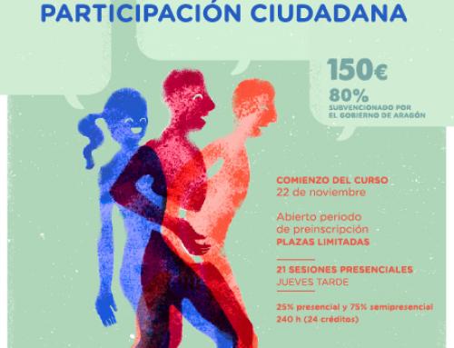 Curso de Técnicas de Participación Ciudadana