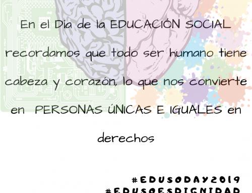 Comunicado del CGCEES con motivo del Día Internacional de la Educación Social 2019