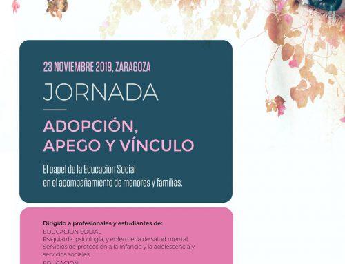 Jornada «Adopción, apego y vínculo» Zaragoza 23 noviembre
