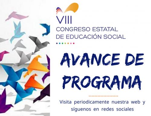 El VIII Congreso Estatal de Educación Social, avanza su programa