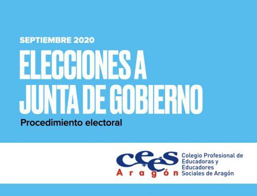 Elecciones a nueva Junta de Gobierno