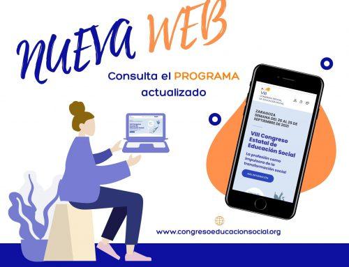 NUEVA WEB DE CONGRESO-NUEVO PLAZO ENVÍO CONTRIBUCIONES