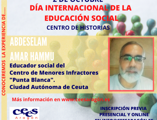 Celebra el Día de la Educación Social con…. Abdeselam Amar Hammu