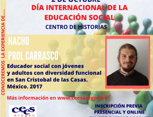 Celebra el día de la Educación Social con…. Nacho Prol Carrasco