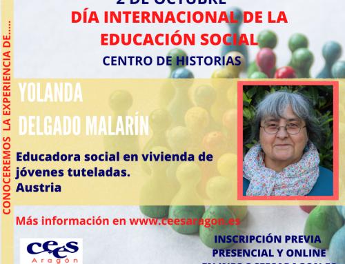 Celebra el día de la Educación Social con…. Yolanda Delgado Malarín